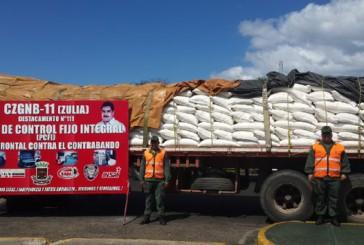 Retienen 30 toneladas de azúcar en Zulia