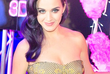 Katy Perry se prepara para su espectáculo en el Súper Bowl