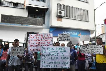 Protestaron frente a tribunales para exigir libertad de apresados