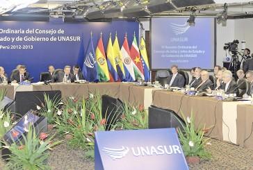Unasur ratifica apoyo a Maduro