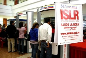 Seniat recuerda que pago de ISLR es a UT  Bs. 127