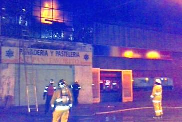 Bomberos controlaron incendio  en panadería de la Miquilén