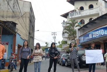 Comunales protestaron en Carrizal  para pedir nulidad del CLPP