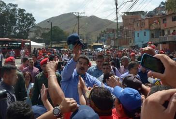 Maduro inauguró el primer tramo de la Circunvalación Guaicaipuro