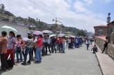 Venta de leche generó tumulto en el Unicasa