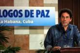 FARC denuncian la muerte de uno de sus negociadores