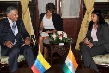 Venezuela e India fortalecerán relaciones