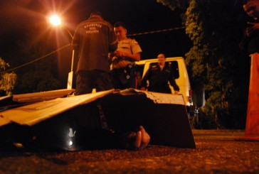 Murió motorizado al estrellarse contra un Jeep en la Víctor Baptista