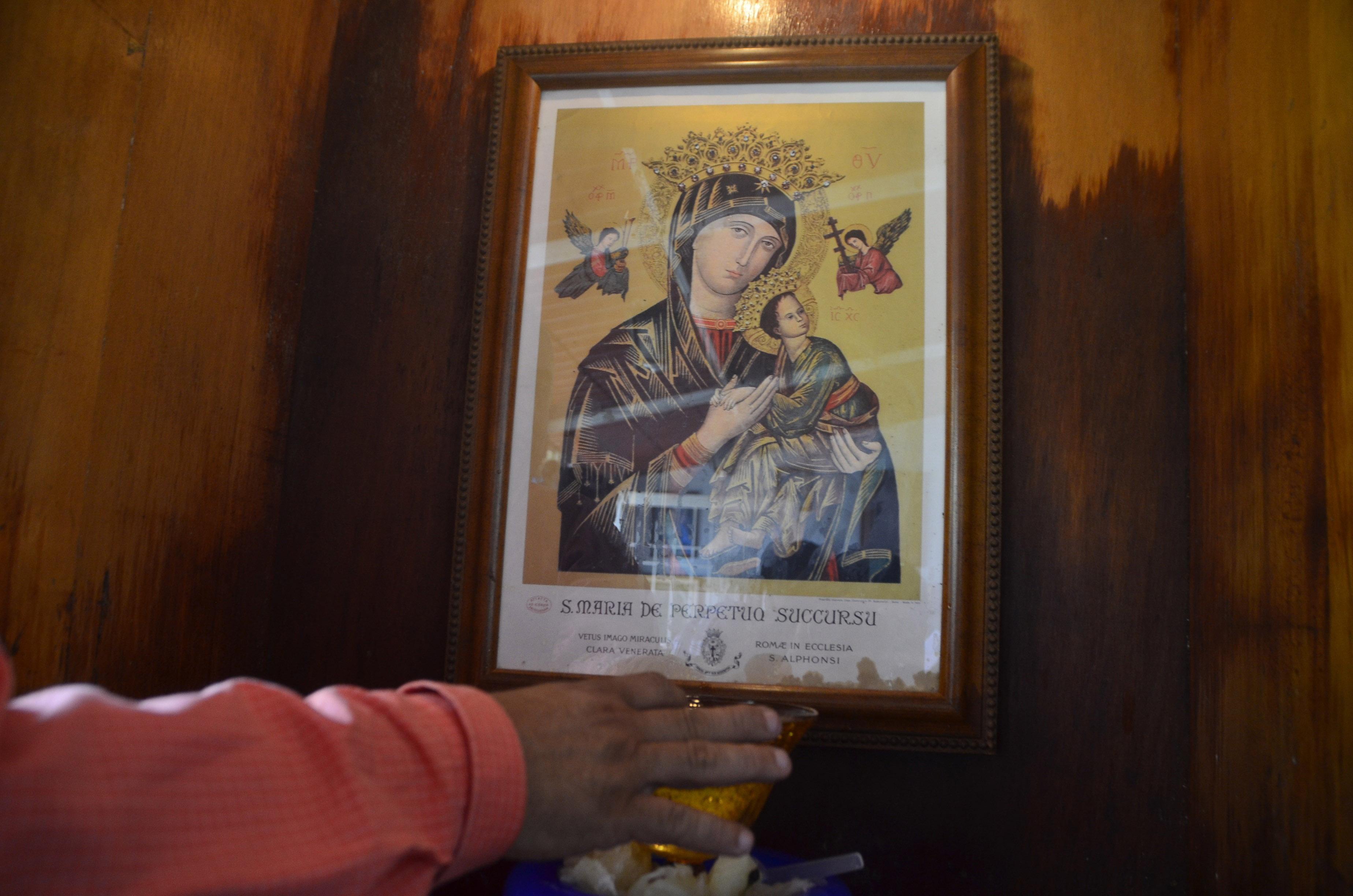 Se auspiciará misa en capilla de la Virgen del Perpetuo Socorro