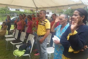Juramentan parlamento comunal en Laguneta