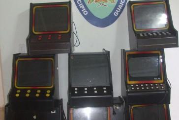 Decomisaron 15 máquinas traganíqueles en casino clandestino