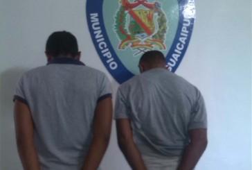 En El Jabillal atraparon a dos presuntos secuestradores
