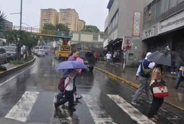 Inameh pronostica este martes abundante nubosidad con precipitaciones