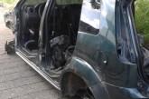 Hallan camioneta robada y otro vehículo desvalijado