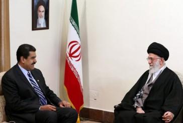 """Irán y Venezuela reafirman alianza para combatir el """"imperialismo"""" de EE.UU"""