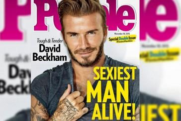 David Beckham es el hombre más sexy del mundo, según People