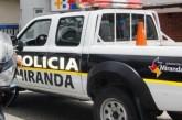 Polimiranda encuentra camioneta robada