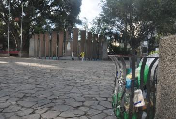 Plaza Miranda se volvió a quedar sin alumbrado
