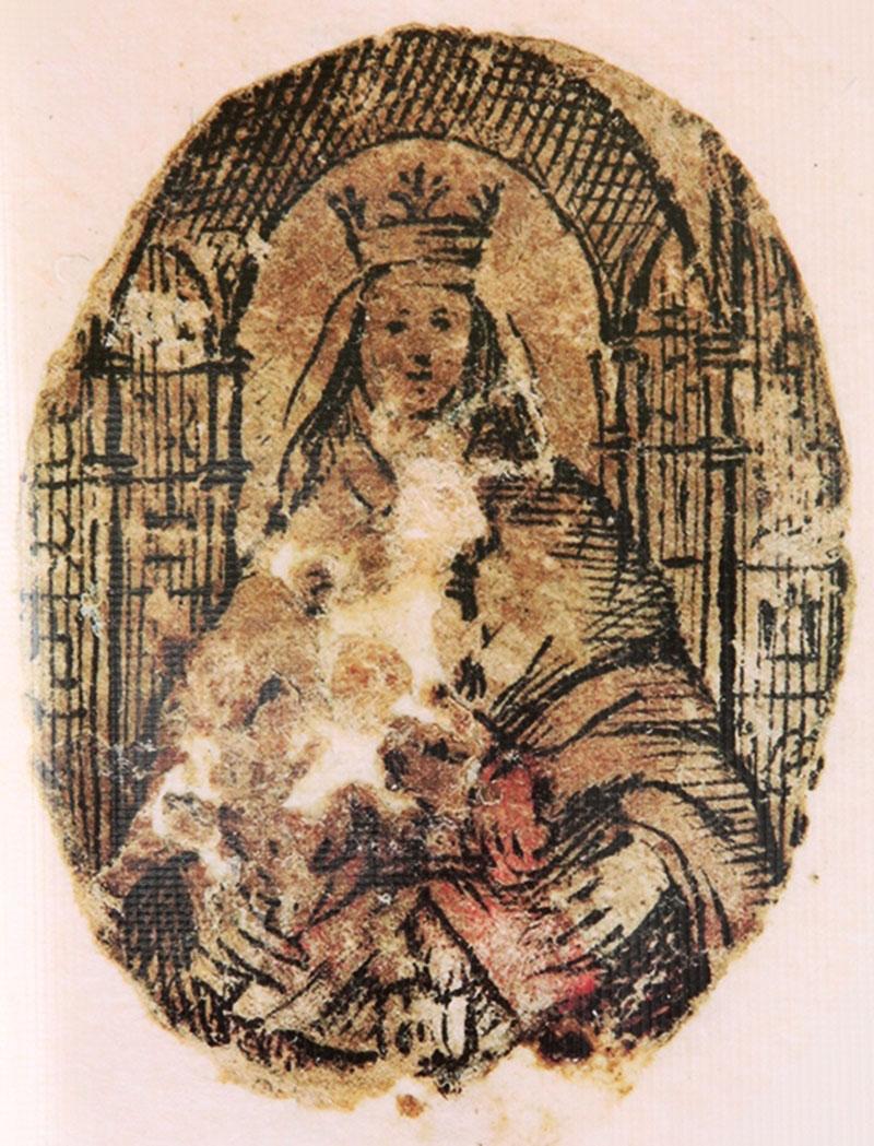 Resultado de imagen para la reliquia de la Virgen de Coromoto