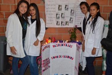 Estudiantes del San Gabriel realizaron su feria científica