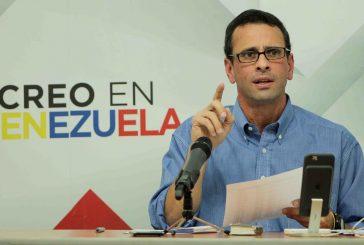 Capriles: Más de 2 millones 500 mil firmas recogió la MUD