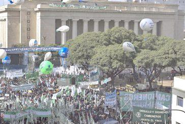 Sindicatos argentinos se movilizaron contra Macri