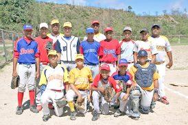 Selección de Beisbol infantil AA calienta motores en La Fragua