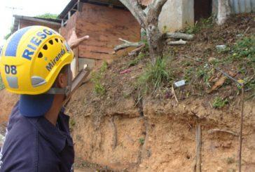 46 puntos sensibles a las lluvias en Carrizal