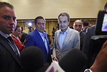 Mediadores Rodríguez Zapatero y Torrijos están de nuevo en Venezuela
