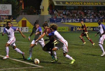 Sub-20 de Dudamel volvió a ganar en España
