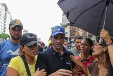 Capriles: Señora Lucena si usted no da respuesta será responsable de lo que pase en el país