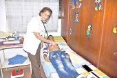 La felicidad de la doctora Morelia está en el bienestar de los niños