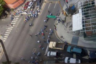 En Caracas protestan trabajadores de Corpoelec por contratación colectiva