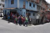 Vecinos de Gran Colombia protestaron por comida