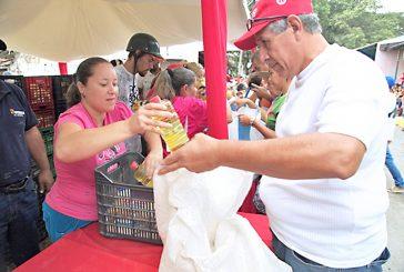 Distribuyeron 152 toneladas de comida en Guaicaipuro