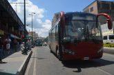 Choferes de buses Yutong cobran  pasaje con sobreprecio