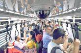 Subió en 40% traslado de usuarios del Metro