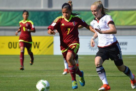 Venezuela pierde 2-1 ante Alemania en su debut en Jordania