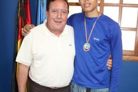Deportista carrizaleño se alza con medalla de bronce en taekwondo