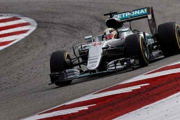 Hamilton ganó el GP de EEUU y acortó distancias con Rosberg