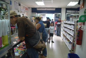Baja afluencia de clientes en librerías