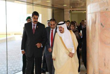 Presidente Maduro llegó a Arabia Saudita para impulsar estabilidad en los precios del petróleo