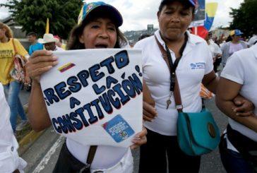 Mirandinas rechazan decisión del CNE