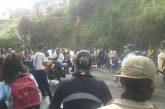 Estudiantes salieron a protestar por sus derechos