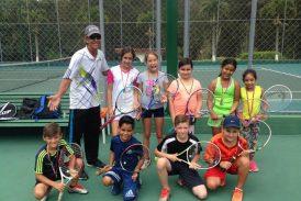 Escuela de Tennis Team realizó torneo infantil y juvenil en Los Salias