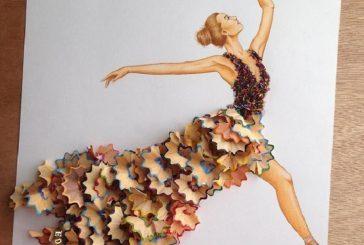 Arte creado con objetos cotidianos