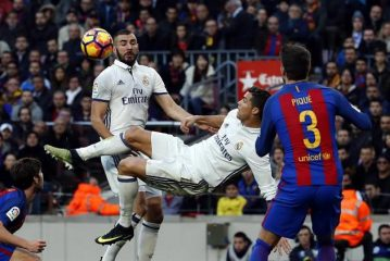 Barcelona empató 1-1 con Real Madrid