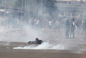 Protestan generan pánico en centro de Maracaibo