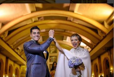 Andreina Castro y Vito Gasparrini se casaron por la iglesia