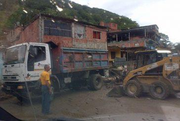 Gobernación inició labores de limpieza en San Pedro